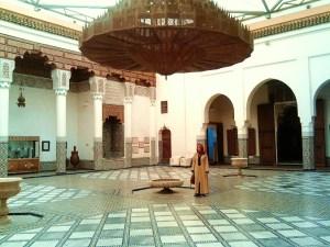 Anne in Marrakesh